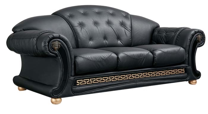 Living Room Sets In Genuine Italian Leather