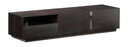 T027 Dark Oak Long Contemporary TV Stand