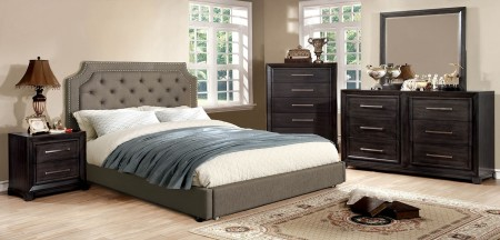 Orianna Bedroom Set in Brown and Grey