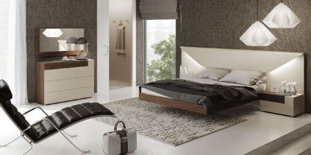 Elena Bedroom Set in Two Tone by Garcia Sabate