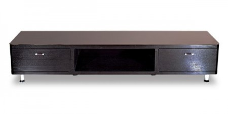 Dark Brown Solid Wood Large TV Stand 622B