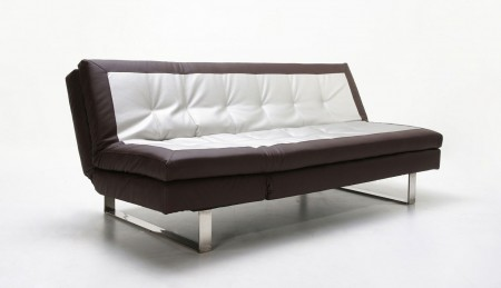 Modern Two Tone Adjustable Sofa Bed Sleeper 12