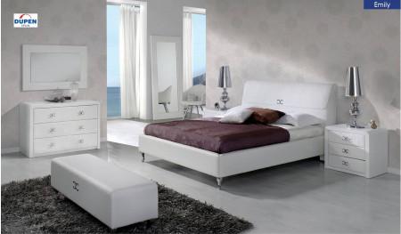 Emily Modern White Bedroom Set by Dupen, Spain