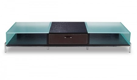TVR6231 Espresso Contemporary TV Stand