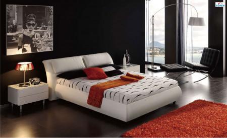 Meg 615 Bedroom Set in White Finish by Dupen Spain