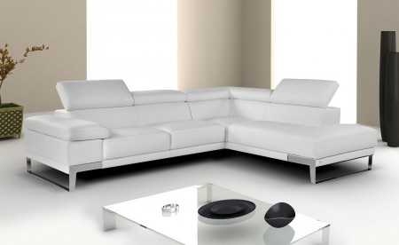 Nicoletti Domus Sectional in White, Grey or Black