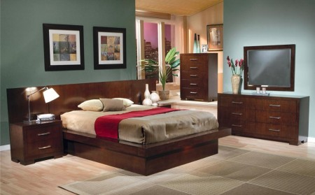 200711 Jessica Contemporary Bedroom Set by Coaster Furniture