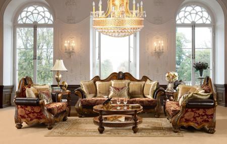 HD-481 Living Room Set Traditional Fabric