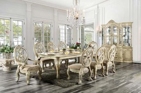 Tuscany II Antique White Dining Room Set