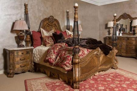 AICO MIchael Amini Eden's Paradise Bedroom Set