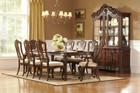 Homelegance Perry Hall Classic Solid Wood Dining Set 1405-108
