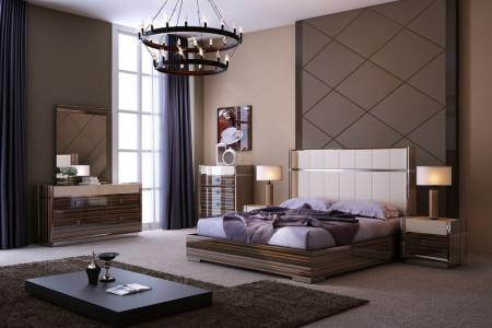 J&M Furniture Treviso Bedroom Set Platform Bed