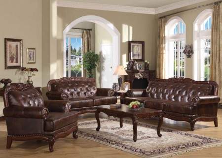 05945 Birmingham Traditional Living Room Set