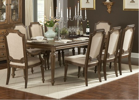 845-96 Eastover Classic Solid Wood Dining Set by Homelegance