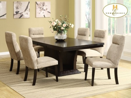 5448-78 Avery Collection by Homelegance Espresso Finish Dining Set