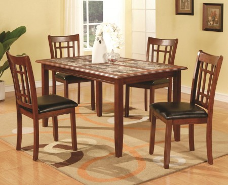 Jonesboro Cherry Wood 5 Piece Dining Set 102181