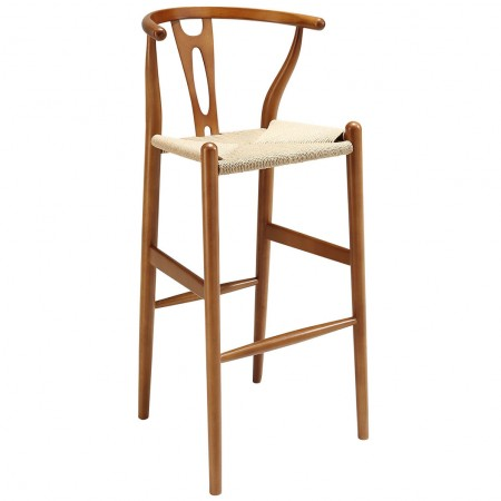 EEI-1079 Amish Walnut Finish Bar Stools