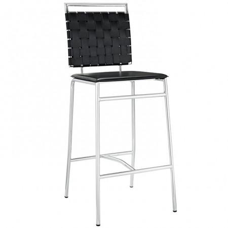 EEI-11008 Fuse Modern Black Bar Stool