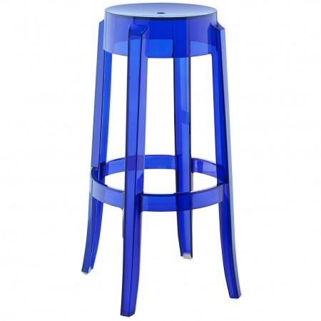 EEI-1701 Casper Modern Blue Bar Stool