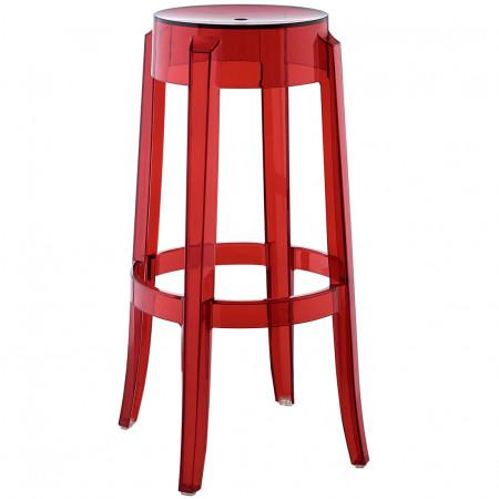 EEI-1701 Casper Modern Red Bar Stool