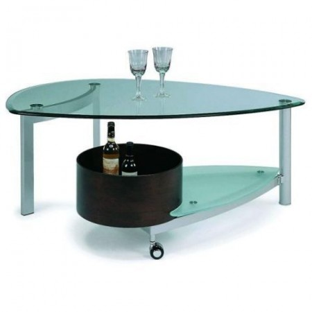 EG13520 Contemporary Glass Occasional Table