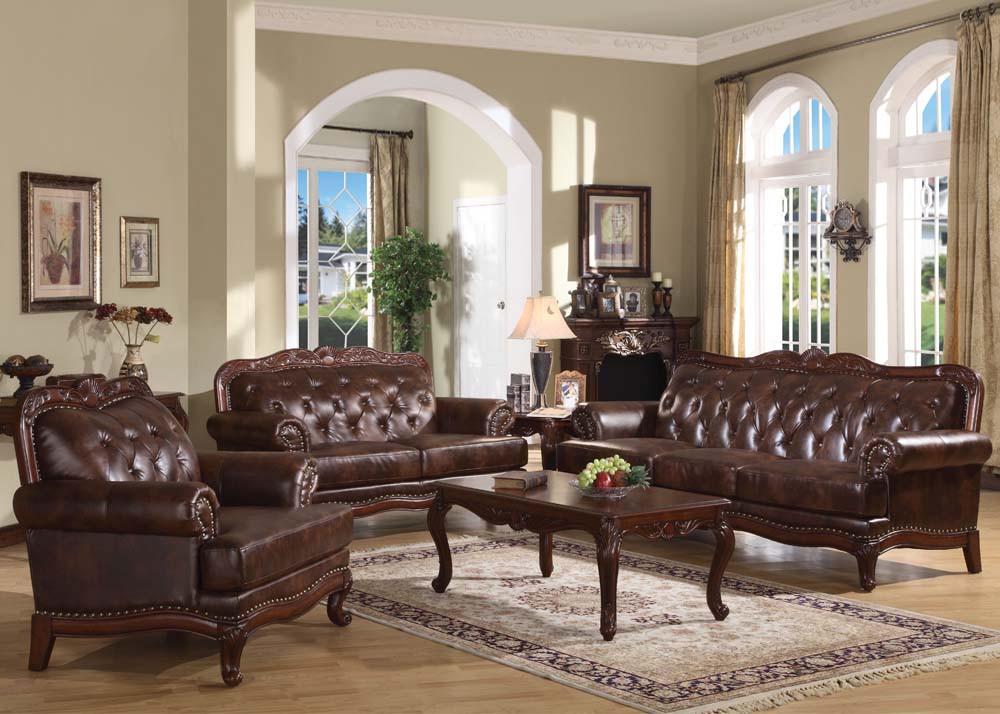 05945 Birmingham Traditional Living Room Set