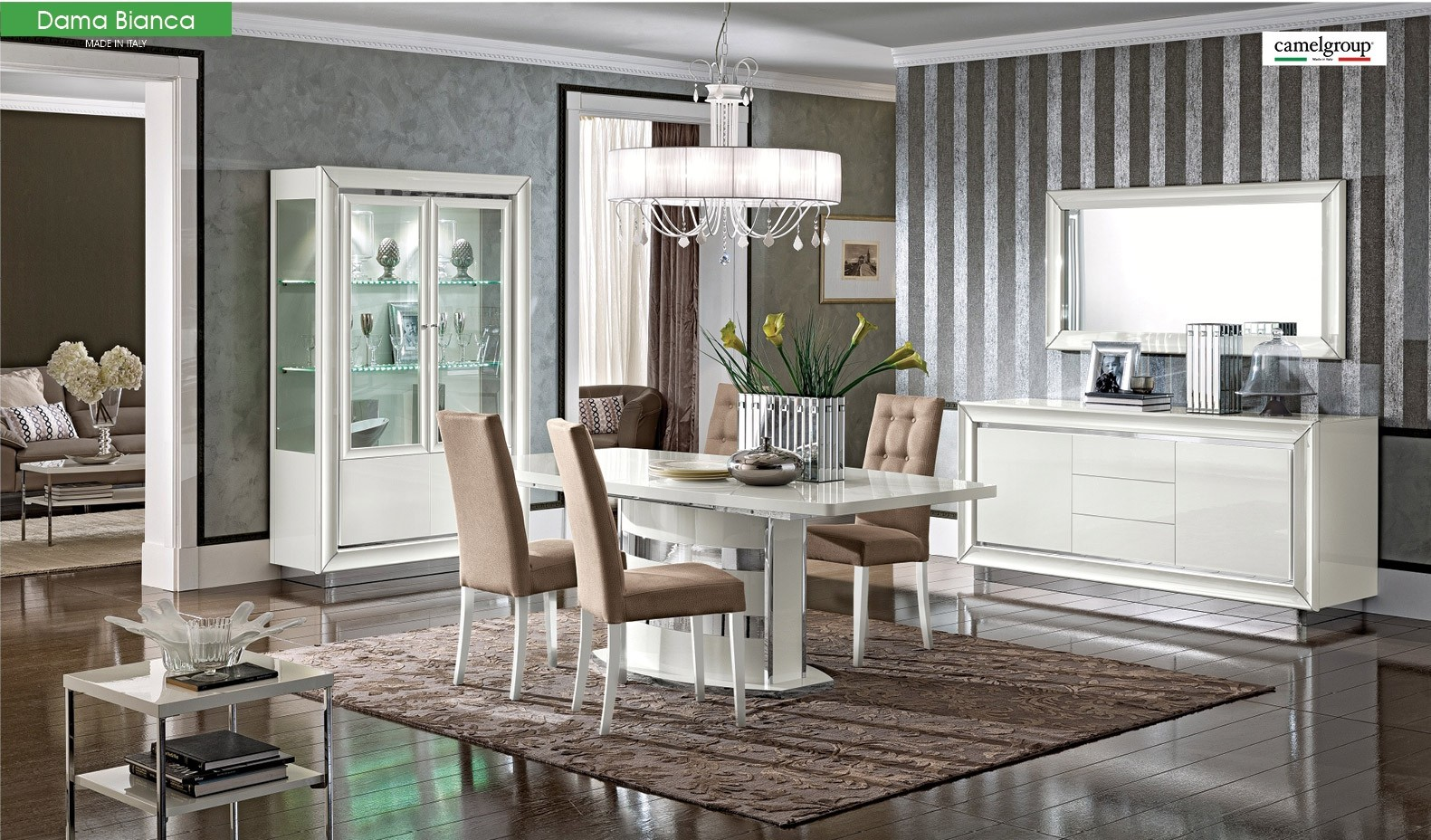 Dining Room Set Made In Italy Touch To Zoom