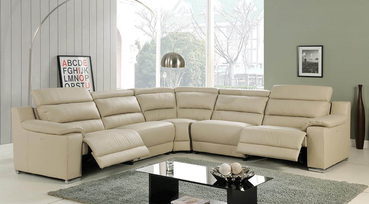 Elda Reclining Sectional Sofa In