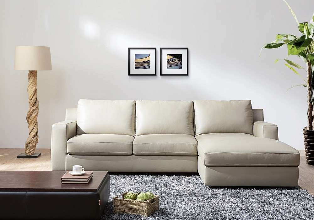 Elizabeth sectional sofa bed in black italian leather - What is a sofa bed ...