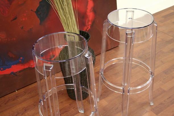 Bettino Modern Acrylic Bar Stool