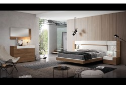 Mar Bedroom Set in Two Tone Finish by Garcia Sabate, Spain