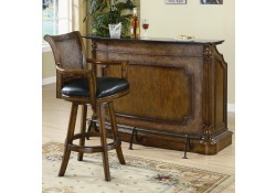 100173 Coaster Furniture Clarendon Traditional Marble Top Home Bar Unit