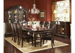 1394-108 Palace Collection 7 Piece Wood Dining Set by Homelegance