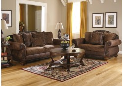 ashley signature design 1540038 bradington truffle living room