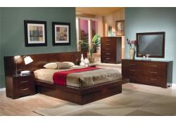 200711 Jessica Platform Contemporary Bedroom Set by Coaster Furniture