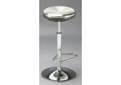 Contemporary Stainless Steel Bar Stool
