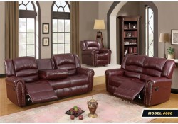 Double Reclining Sofa Set 686 Meridian Furniture