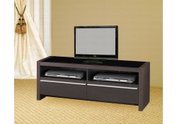 700649 Contemporary TV Stand with Shelves and Drawers