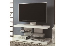700824 White High Gloss Finish Modern TV Stand by Coaster