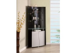 Helen Contemporary Display Case Bar Curio Cabinet