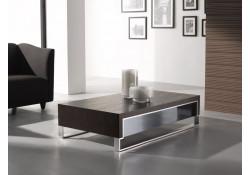 Rectangular Wenge Wood Modern Coffee Table 888