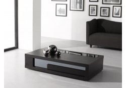 Dark Brown Wenge Contemporary Coffee Table 900