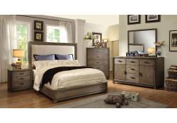 Antler Bedroom Set in Natural Ash And Ivory
