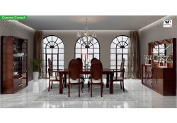 Carmen Dining Room Set in Walnut Brown by Franco Furniture