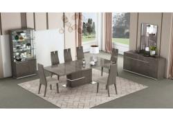 Copenhagen Dining Room Set in Chestnut Lacquer