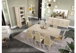 Dover Italian Dining Room Set in Beige