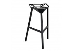 EEI-1024 Launch Modern Black Bar Stool