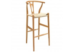 EEI-1079 Amish Natural Finish Bar Stools