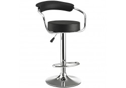 EEI-192 Diner Modern Black Bar Stool