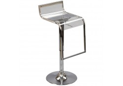 EEI-535 Lem Contemporary Clear Acrylic Bar Stools